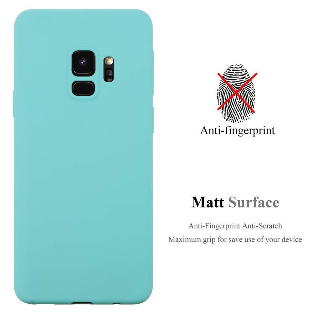 Custodia-Cover-Silicone-per-Samsung-Galaxy-S9-TPU-Case-Protettiva miniatura 46