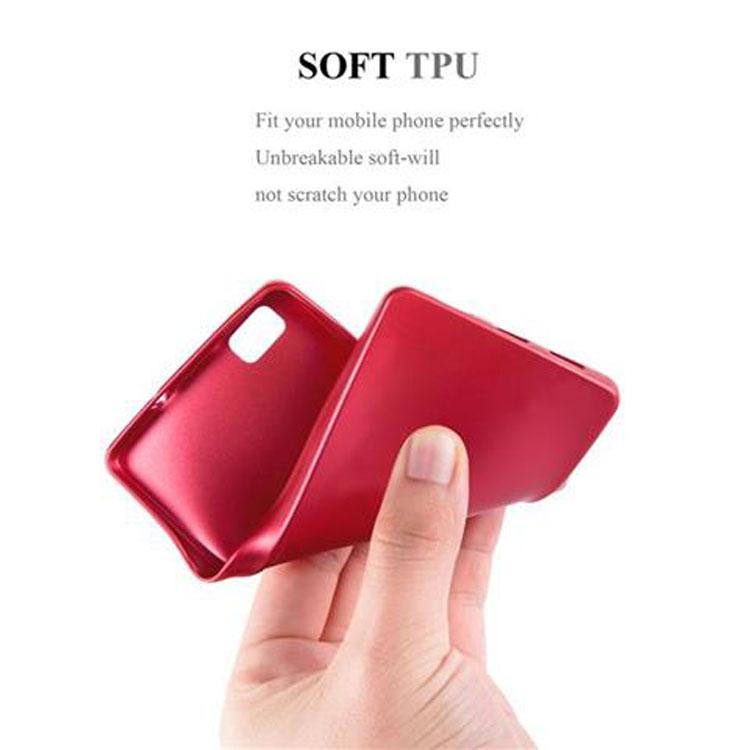 Custodia-Cover-Silicone-per-Huawei-P8-LITE-2015-TPU-Case-Metallico-Opaco miniatura 15