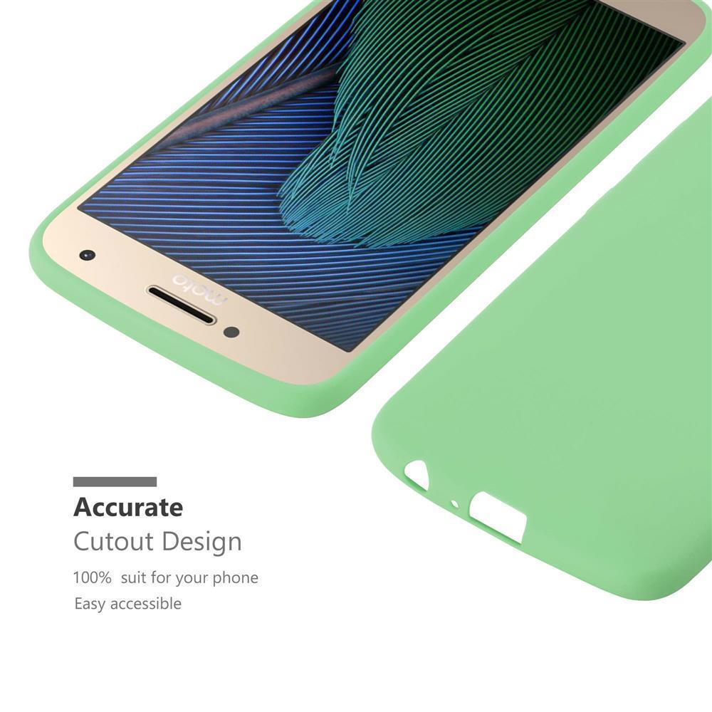 Custodia-Cover-Silicone-per-Motorola-MOTO-G5-PLUS-TPU-Case-Protettiva miniatura 24