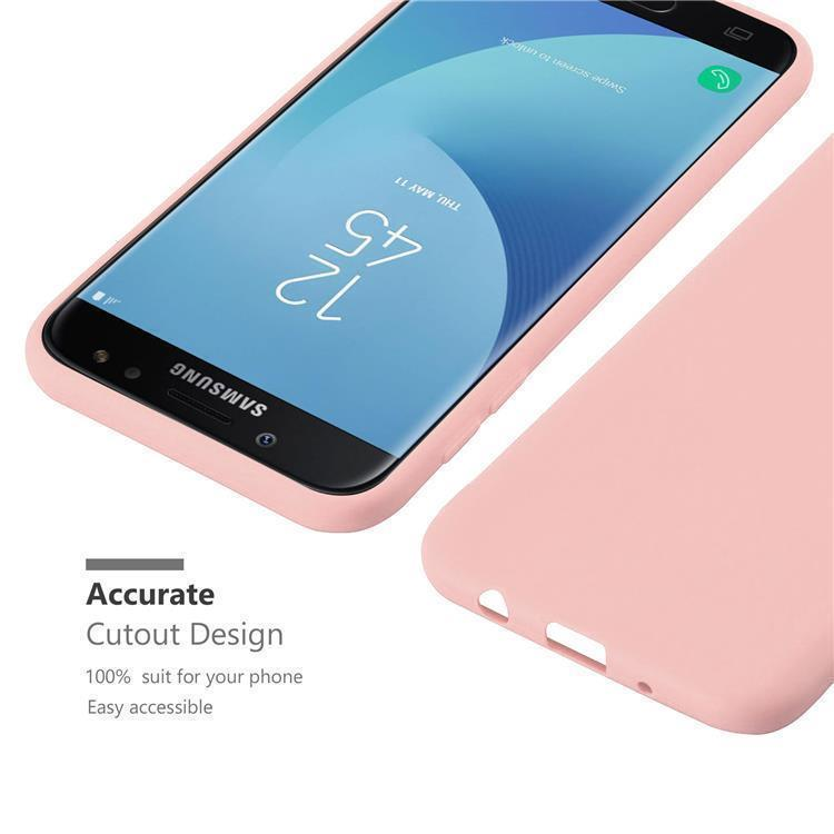 Custodia-Cover-Silicone-per-Samsung-Galaxy-J7-2017-TPU-Case-Protettiva miniatura 17