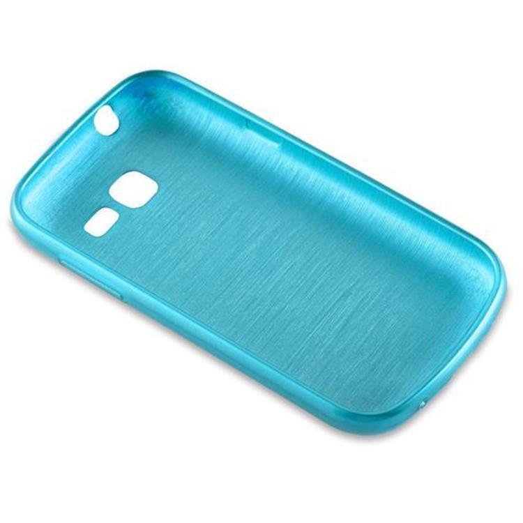 Custodia-Cover-Silicone-per-Samsung-Galaxy-TREND-LITE-TPU-Case-Effetto-Acciaio miniatura 15