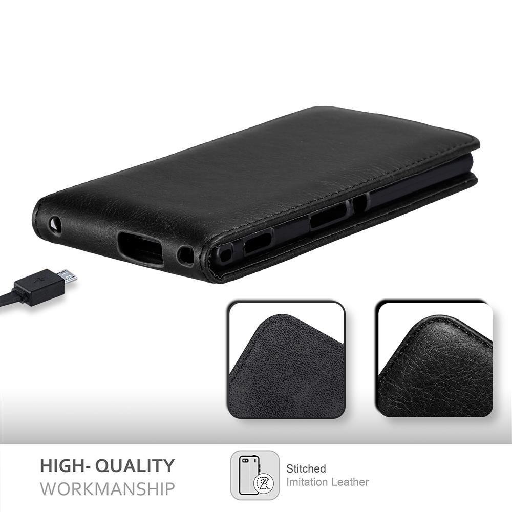 Custodia-per-Sony-Xperia-M2-M2-AQUA-FLIP-Cover-Protezione-Case-Conchiglia miniatura 14