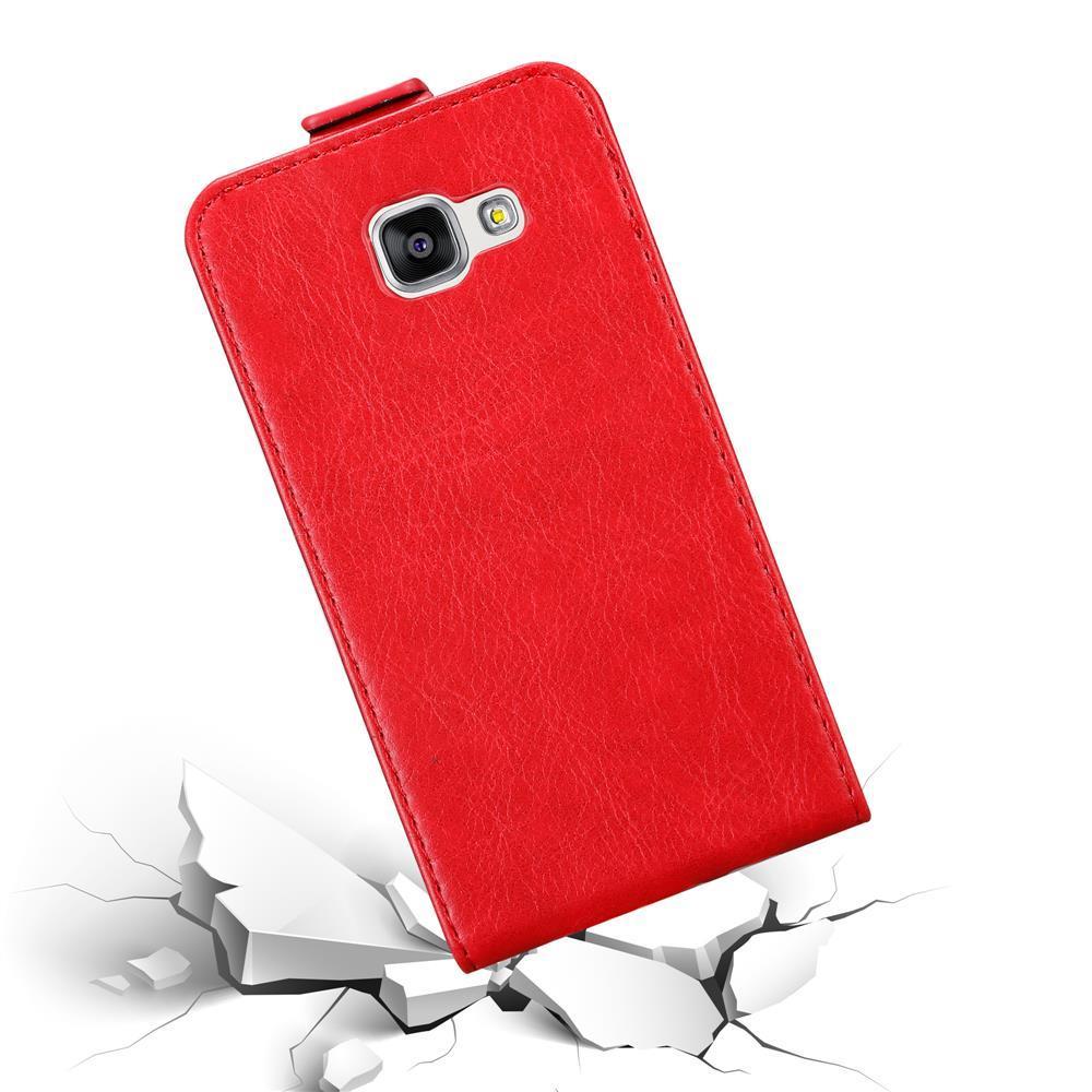 Custodia-per-Samsung-Galaxy-A3-2016-FLIP-Cover-Protezione-Case-Conchiglia miniatura 8