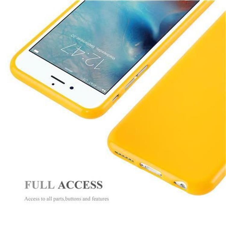 Custodia-Cover-Silicone-per-Apple-iPhone-6-6S-Morbida-TPU-Case miniatura 23