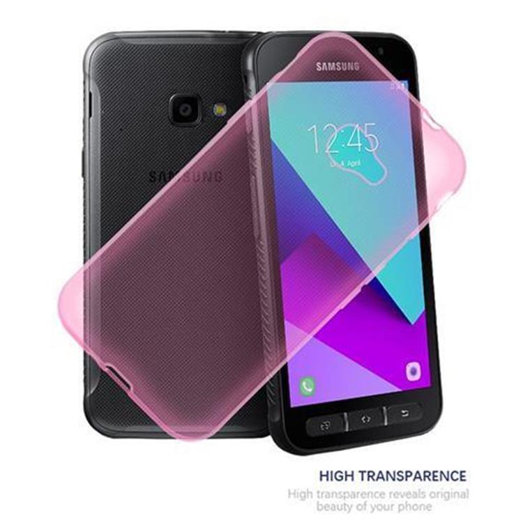 Custodia-Cover-Silicone-per-Samsung-Galaxy-Xcover-4-TPU-Case-Ultra-Sottile miniatura 12
