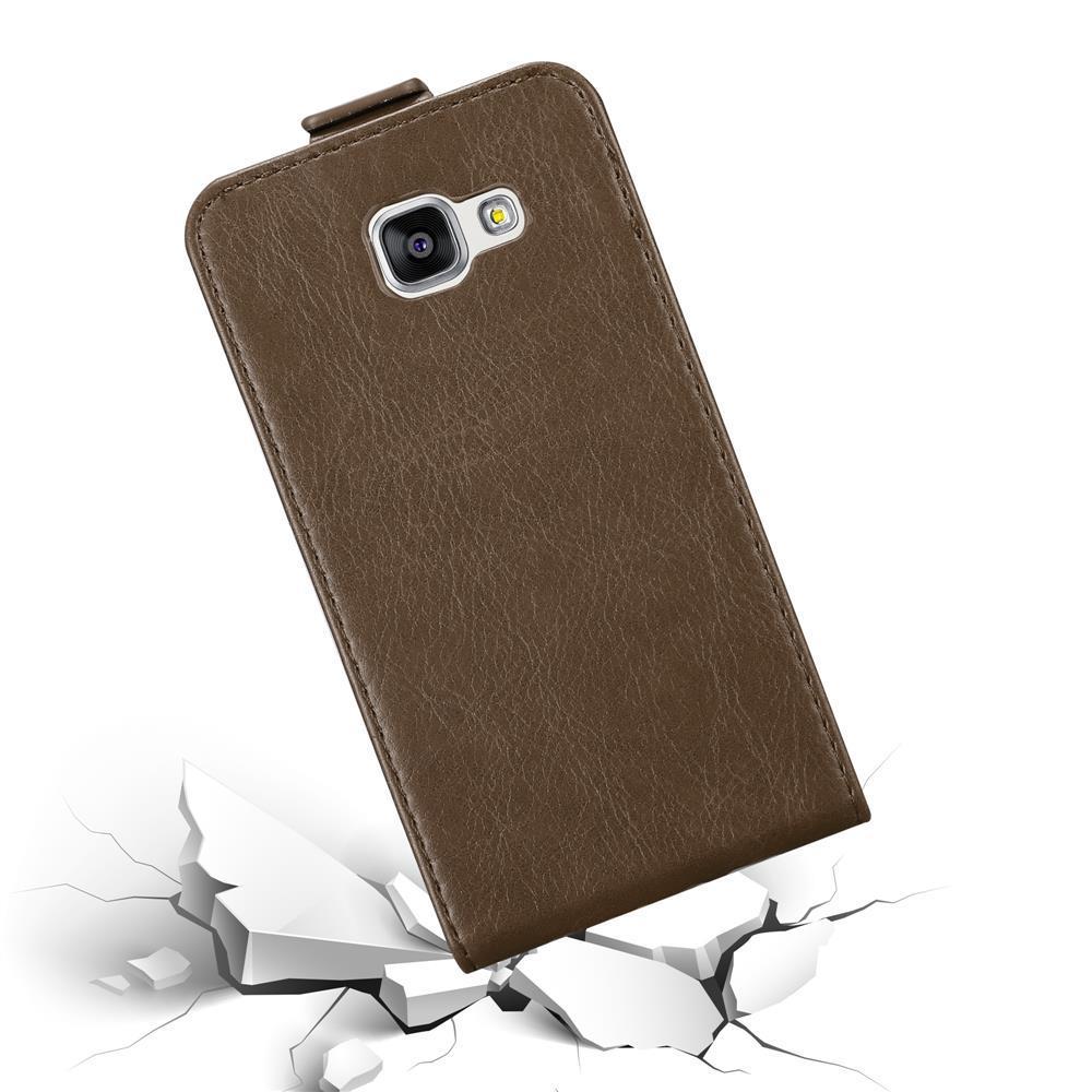 Custodia-per-Samsung-Galaxy-A3-2016-FLIP-Cover-Protezione-Case-Conchiglia miniatura 18