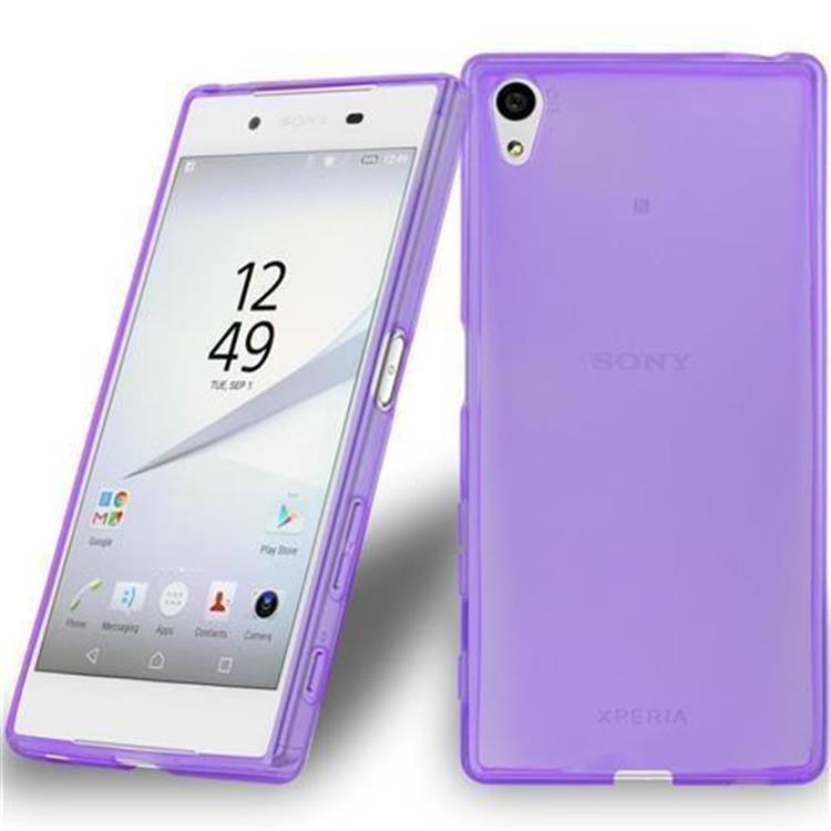 Custodia-Cover-Silicone-per-Sony-Xperia-Z5-TPU-Case-Ultra-Sottile miniatura 39
