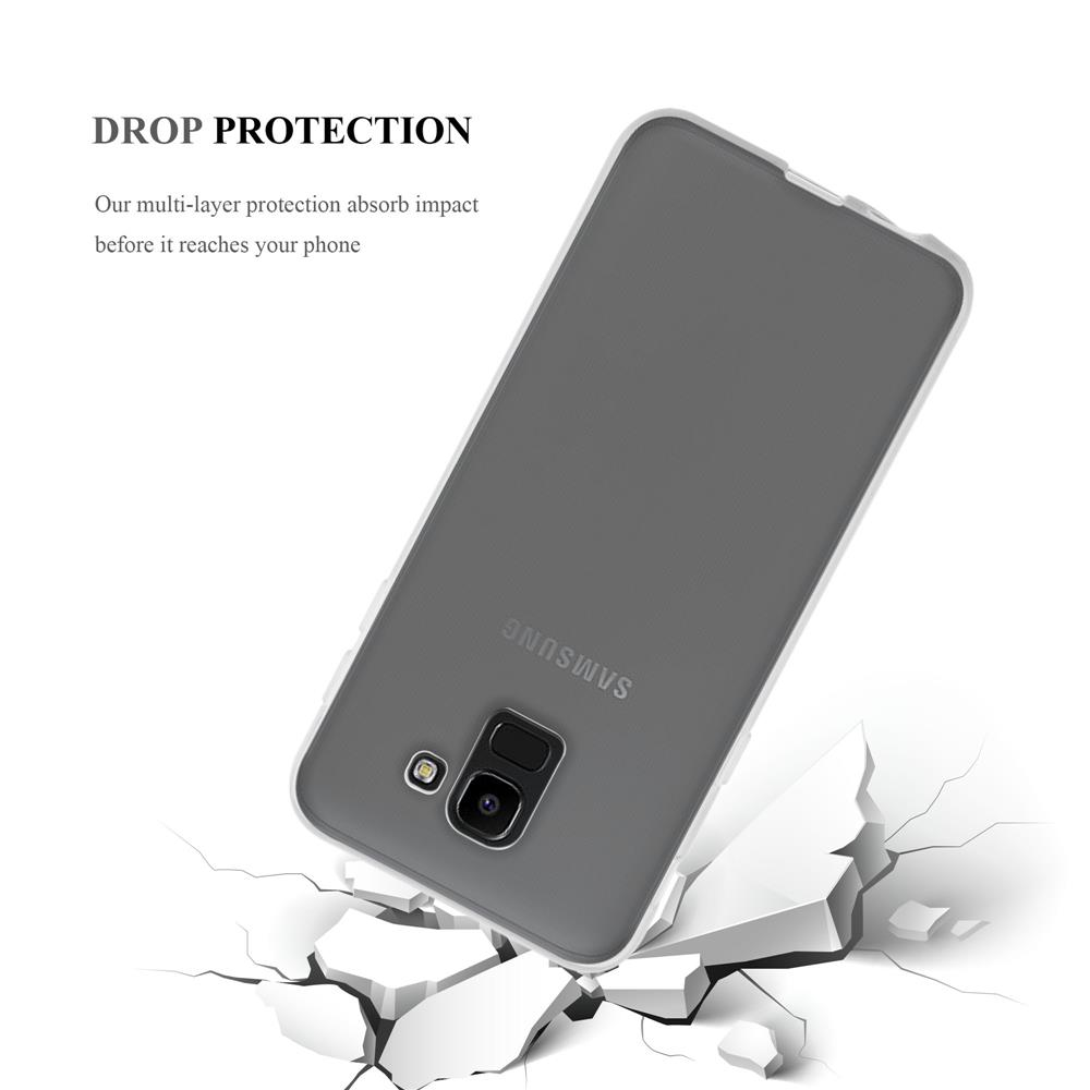 Custodia-Cover-Silicone-per-Samsung-Galaxy-J6-2018-TPU-Case-Ultra-Sottile miniatura 11