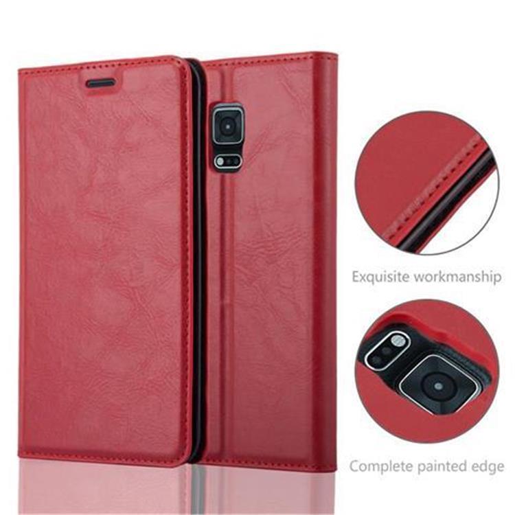 Custodia-per-Samsung-Galaxy-NOTE-EDGE-Portafoglio-Cover-Case-Magnetica-Libro miniatura 22