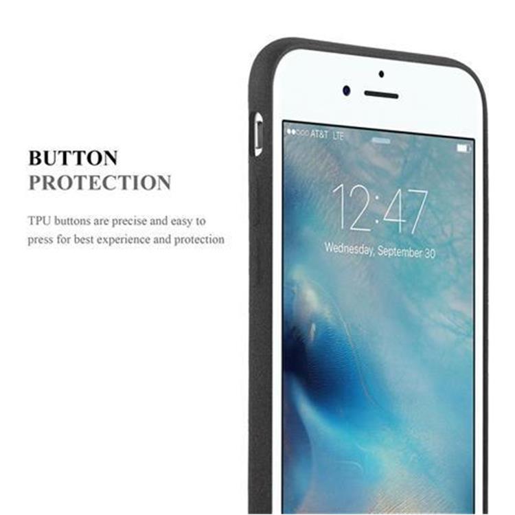Custodia-Cover-Silicone-per-Apple-iPhone-6-iPhone-6S-TPU-Case-Bumper-Guscio miniatura 7