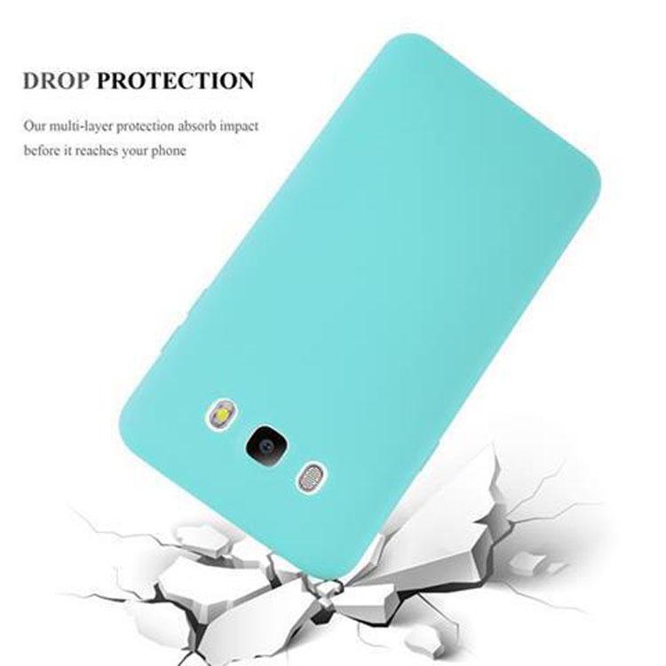 Custodia-Cover-Silicone-per-Samsung-Galaxy-J5-2016-TPU-Case-Protettiva miniatura 43