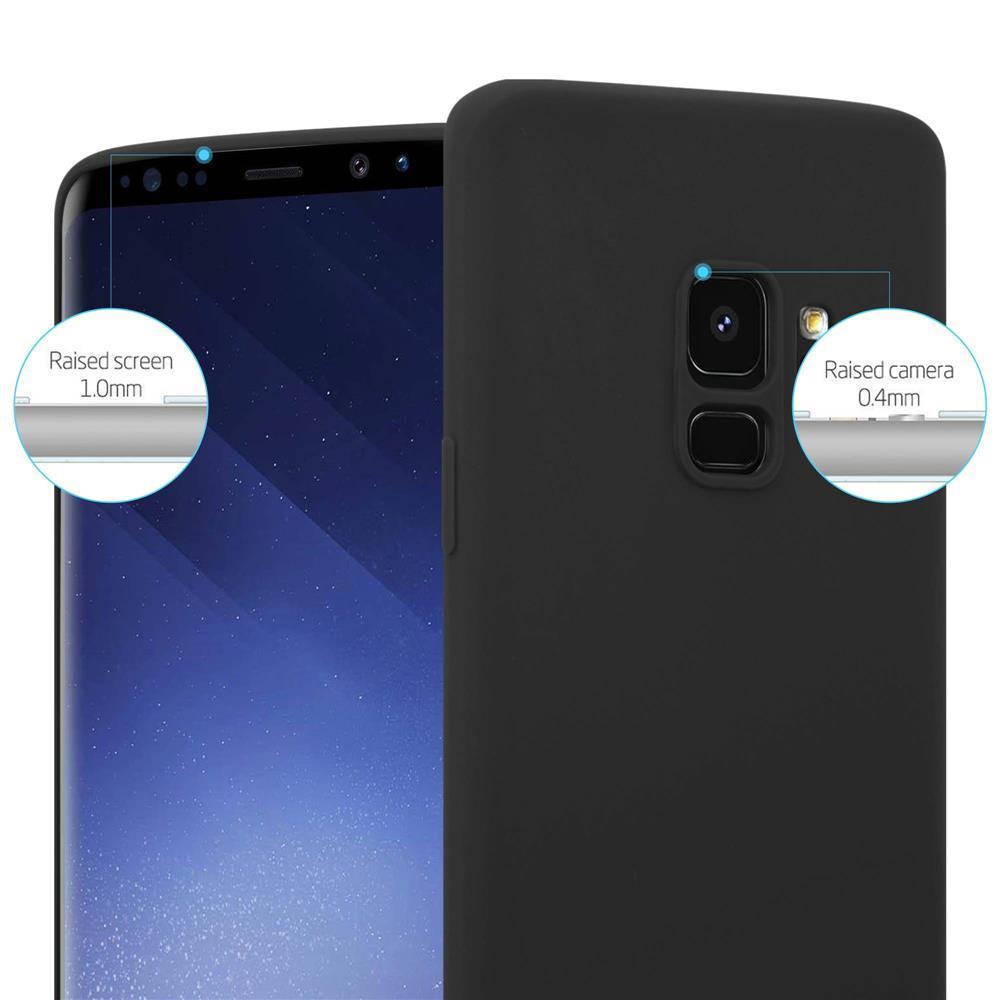 Custodia-Cover-Silicone-per-Samsung-Galaxy-S9-TPU-Case-Protettiva miniatura 37