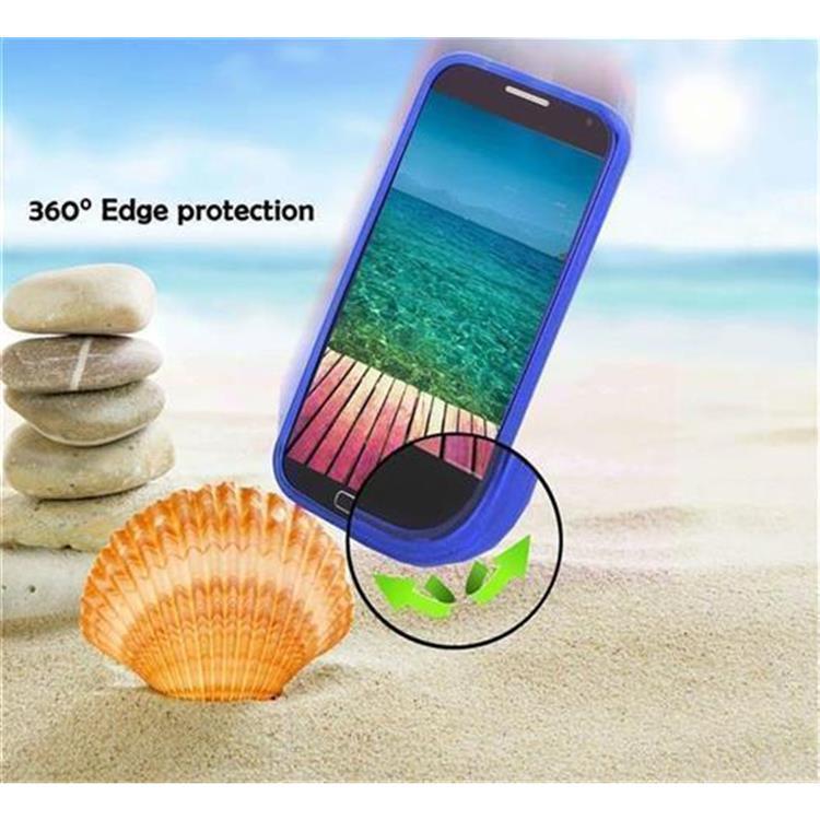 Custodia-Cover-Silicone-per-Huawei-P8-LITE-2015-TPU-Case-Effetto-Acciaio miniatura 39