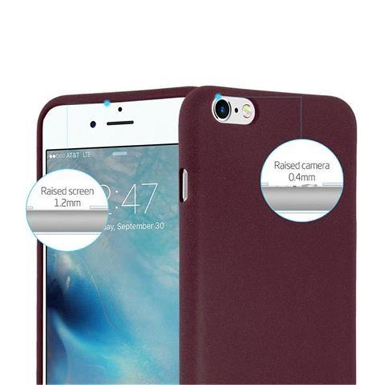 Custodia-Cover-Silicone-per-Apple-iPhone-6-iPhone-6S-TPU-Case-Bumper-Guscio miniatura 26