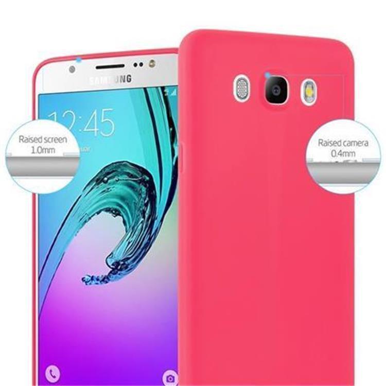Custodia-Cover-Silicone-per-Samsung-Galaxy-J5-2016-TPU-Case-Protettiva miniatura 10