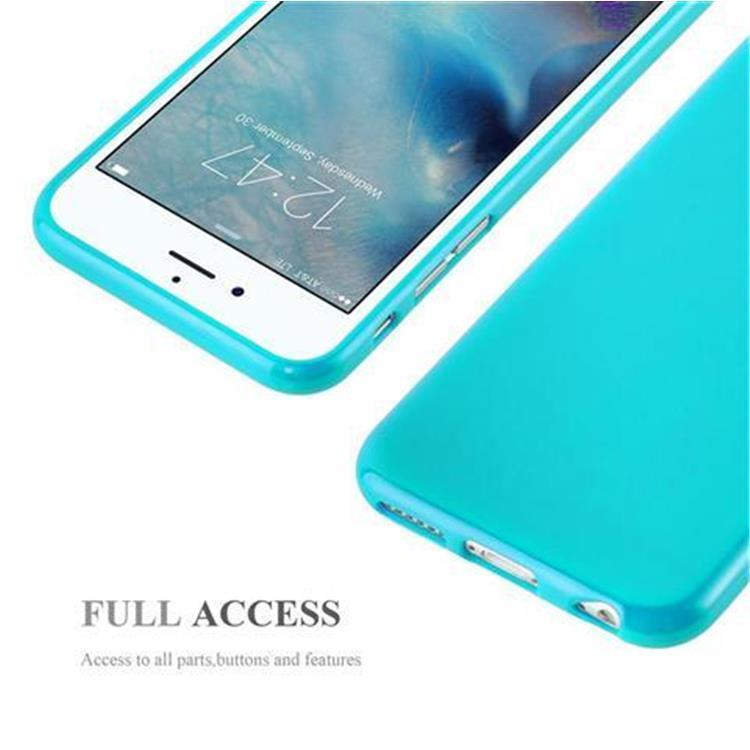 Custodia-Cover-Silicone-per-Apple-iPhone-6-6S-Morbida-TPU-Case miniatura 28