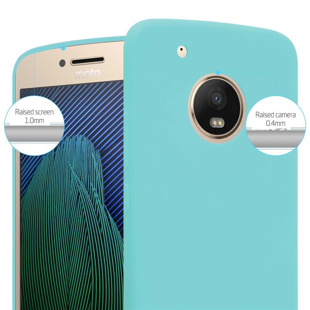 Custodia-Cover-Silicone-per-Motorola-MOTO-G5-PLUS-TPU-Case-Protettiva miniatura 44