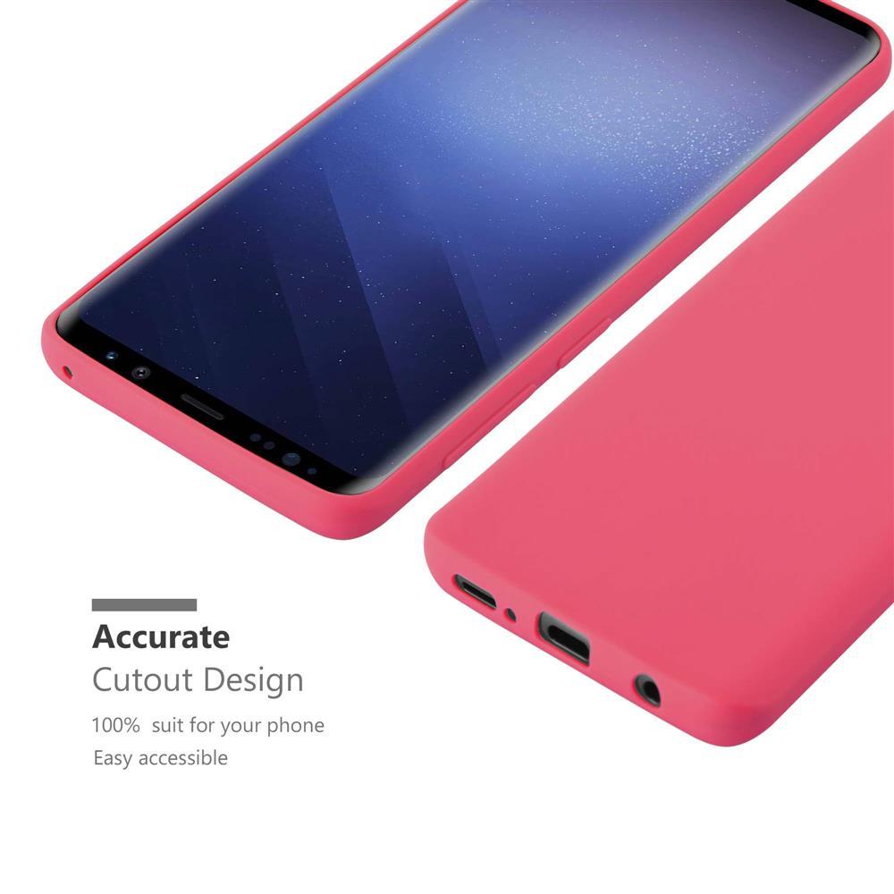 Custodia-Cover-Silicone-per-Samsung-Galaxy-S9-TPU-Case-Protettiva miniatura 10