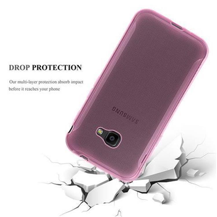 Custodia-Cover-Silicone-per-Samsung-Galaxy-Xcover-4-TPU-Case-Ultra-Sottile miniatura 13