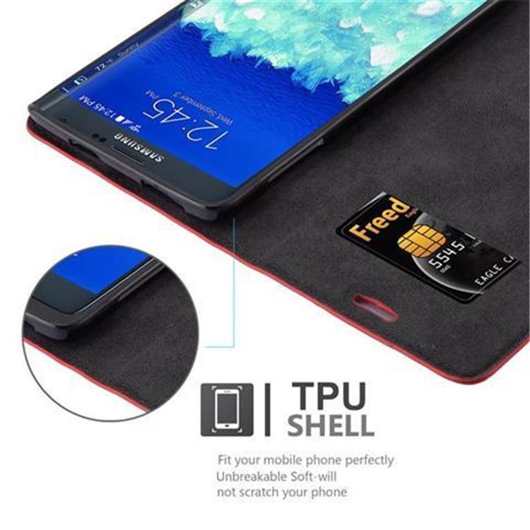 Custodia-per-Samsung-Galaxy-NOTE-EDGE-Portafoglio-Cover-Case-Magnetica-Libro miniatura 18