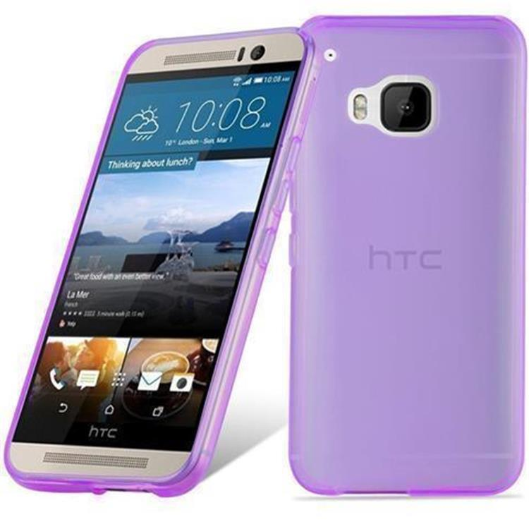 Custodia-Cover-Silicone-per-HTC-ONE-M9-TPU-Case-Ultra-Sottile miniatura 35
