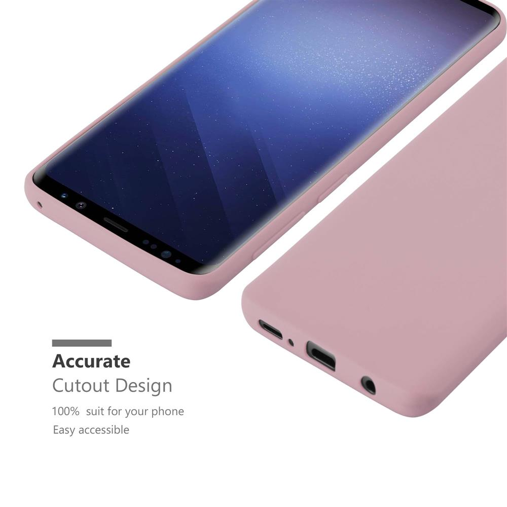 Custodia-Cover-Silicone-per-Samsung-Galaxy-S9-TPU-Case-Protettiva miniatura 17