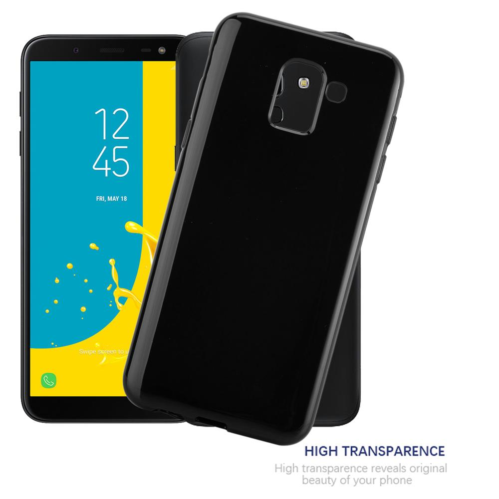 Custodia-Cover-Silicone-per-Samsung-Galaxy-J6-2018-TPU-Case-Ultra-Sottile miniatura 16