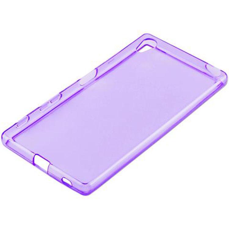 Custodia-Cover-Silicone-per-Sony-Xperia-Z5-TPU-Case-Ultra-Sottile miniatura 35