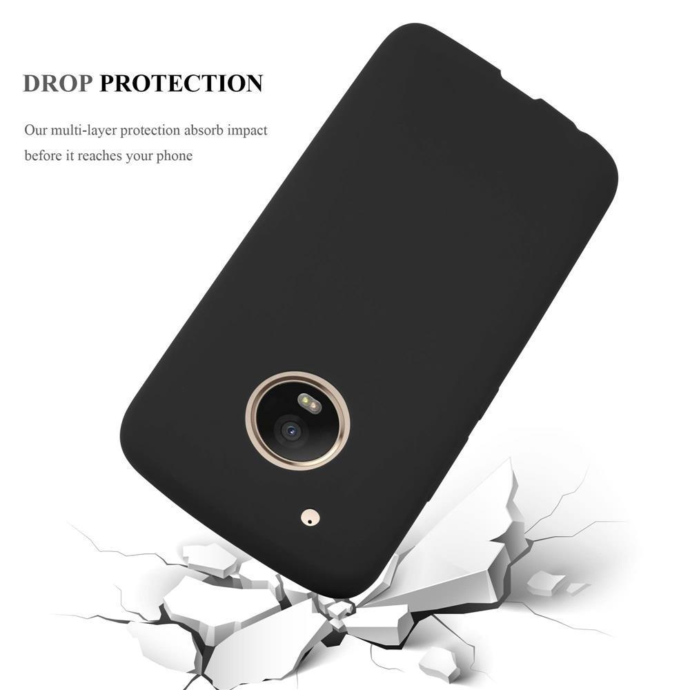 Custodia-Cover-Silicone-per-Motorola-MOTO-G5-PLUS-TPU-Case-Protettiva miniatura 35