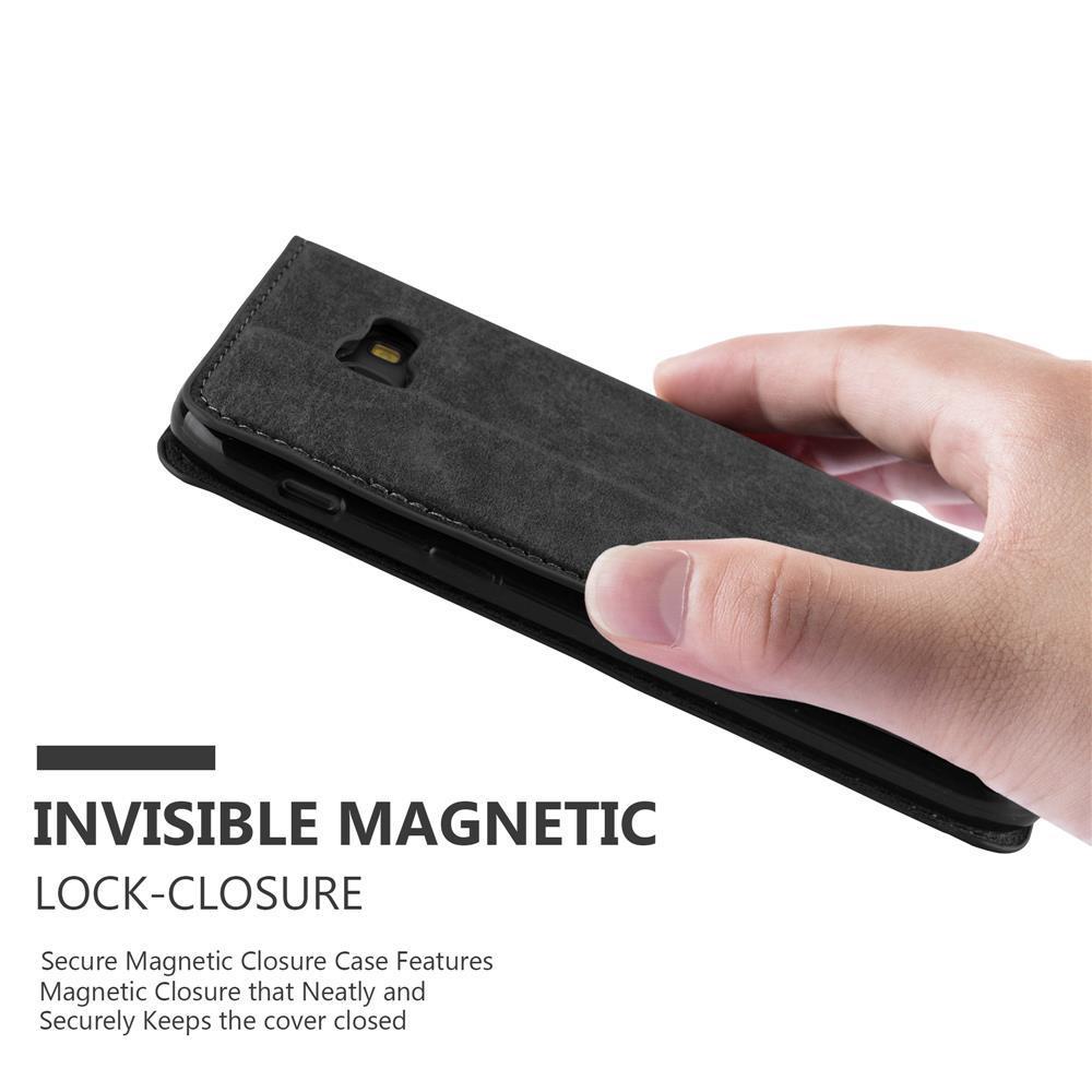 Custodia-per-Samsung-Galaxy-A7-2017-Portafoglio-Cover-Case-Magnetica-Libro miniatura 21