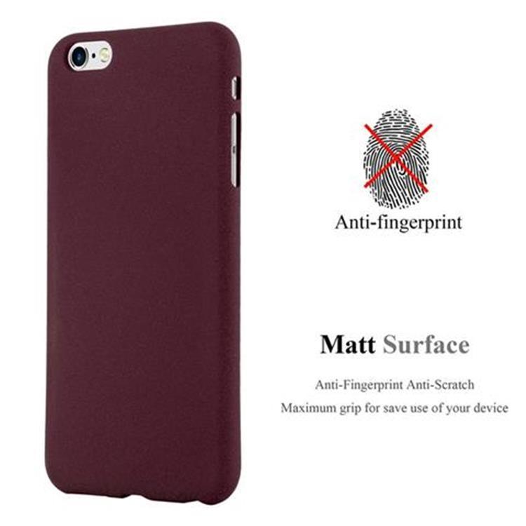 Custodia-Cover-Silicone-per-Apple-iPhone-6-iPhone-6S-TPU-Case-Bumper-Guscio miniatura 22