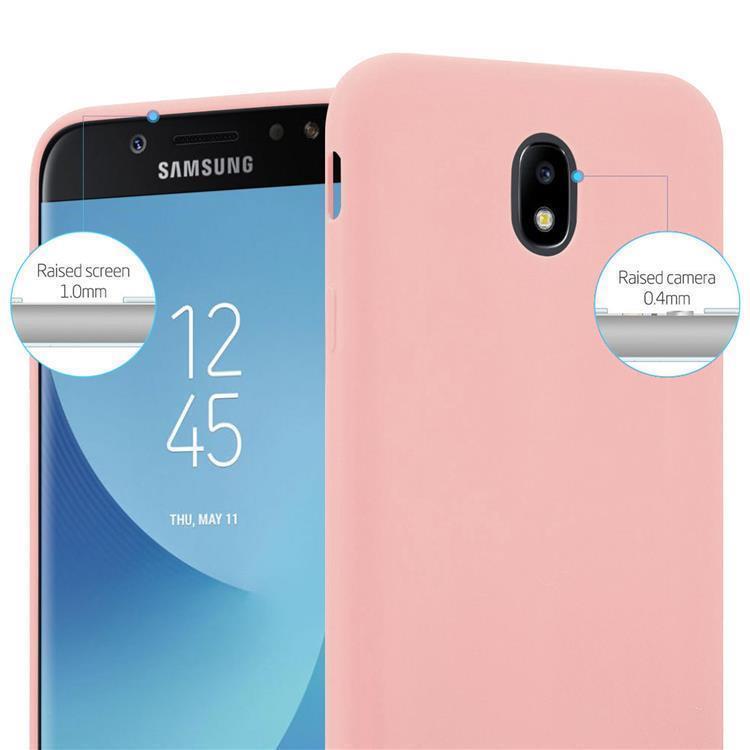 Custodia-Cover-Silicone-per-Samsung-Galaxy-J7-2017-TPU-Case-Protettiva miniatura 16