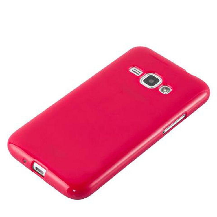 Custodia-Cover-Silicone-per-Samsung-Galaxy-J1-2015-Morbida-TPU-Case miniatura 11