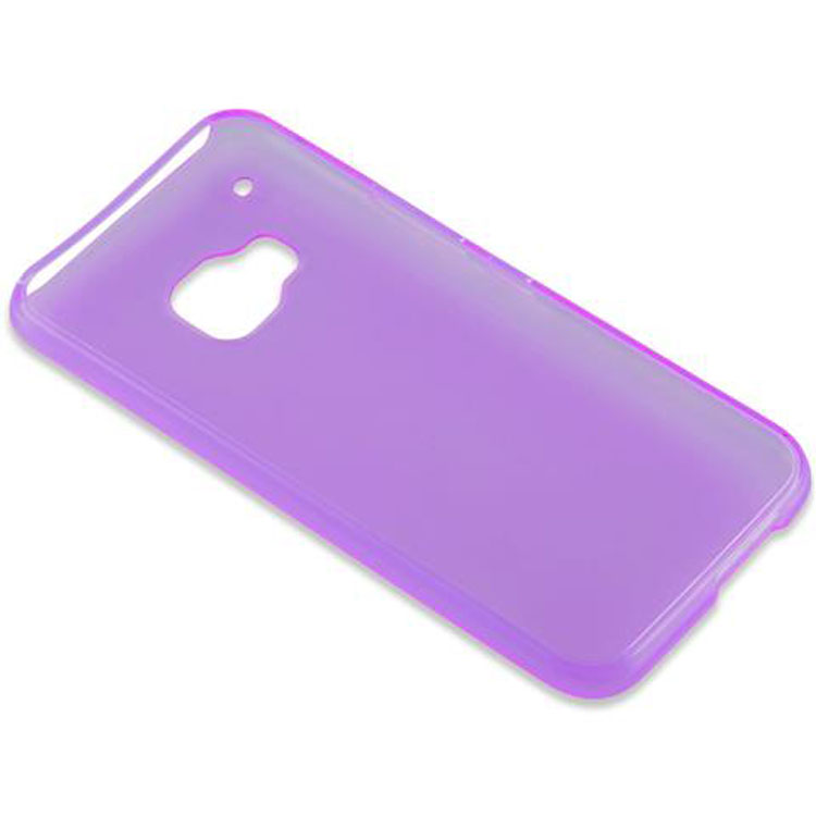 Custodia-Cover-Silicone-per-HTC-ONE-M9-TPU-Case-Ultra-Sottile miniatura 37