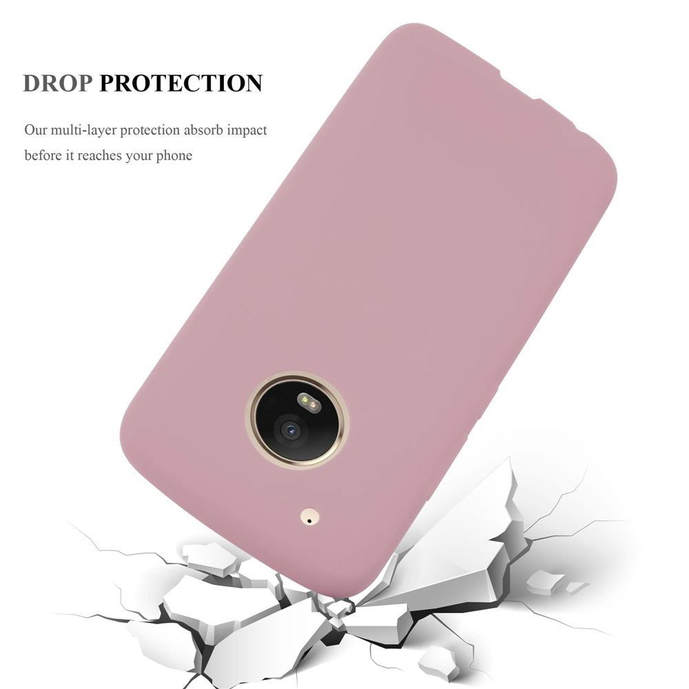 Custodia-Cover-Silicone-per-Motorola-MOTO-G5-PLUS-TPU-Case-Protettiva miniatura 14