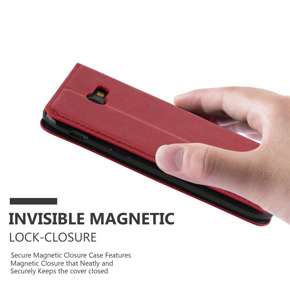 Custodia-per-Samsung-Galaxy-A7-2017-Portafoglio-Cover-Case-Magnetica-Libro miniatura 9