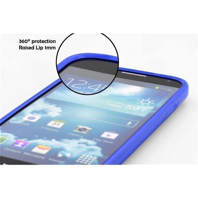 Custodia-Cover-Silicone-per-Huawei-P8-LITE-2015-TPU-Case-Effetto-Acciaio miniatura 40