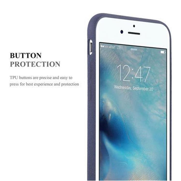 Custodia-Cover-Silicone-per-Apple-iPhone-6-iPhone-6S-TPU-Case-Bumper-Guscio miniatura 17