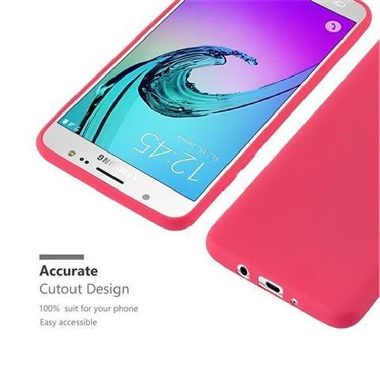 Custodia-Cover-Silicone-per-Samsung-Galaxy-J5-2016-TPU-Case-Protettiva miniatura 11