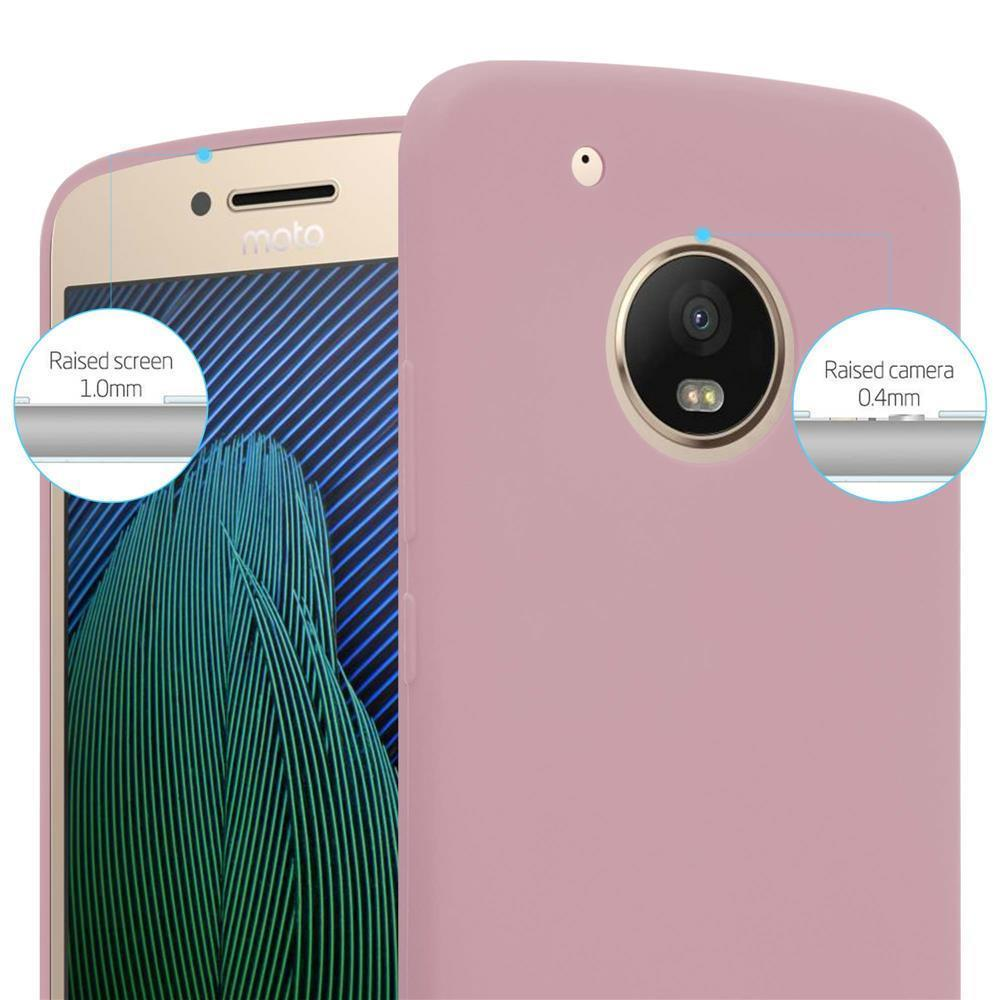 Custodia-Cover-Silicone-per-Motorola-MOTO-G5-PLUS-TPU-Case-Protettiva miniatura 16