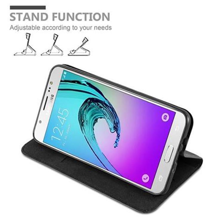Custodia-per-Samsung-Galaxy-J7-2016-Portafoglio-Cover-Case-Magnetica-Libro miniatura 26