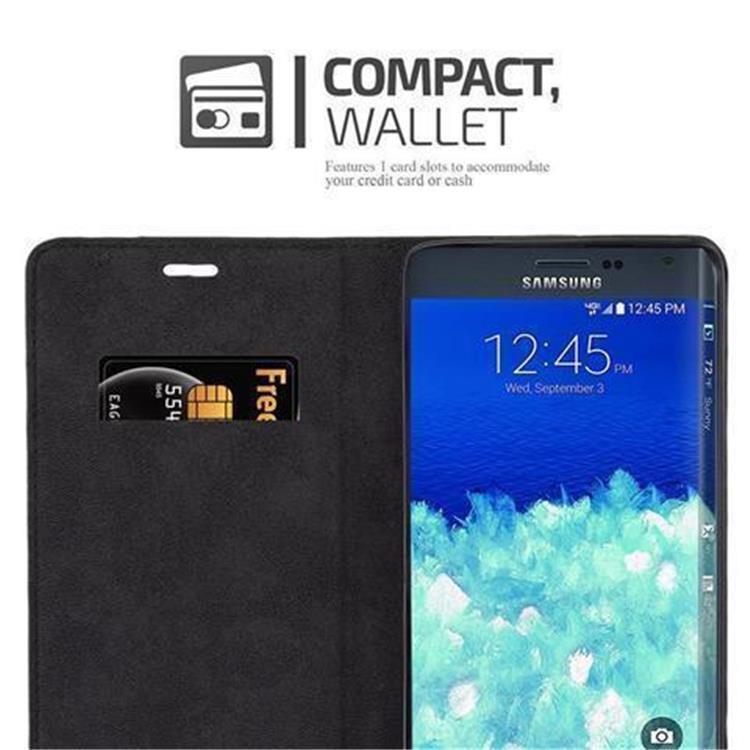 Custodia-per-Samsung-Galaxy-NOTE-EDGE-Portafoglio-Cover-Case-Magnetica-Libro miniatura 10