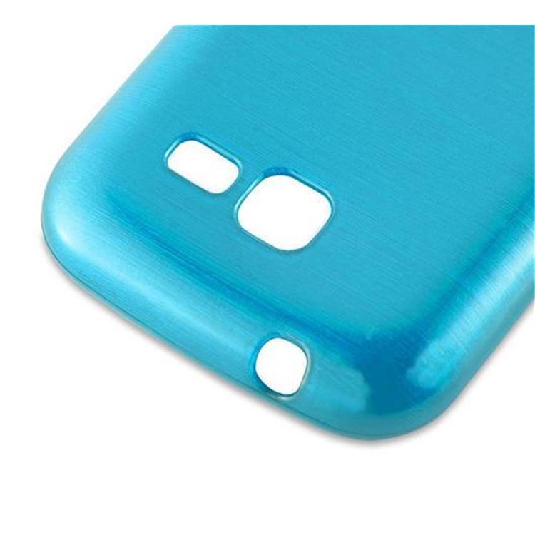 Custodia-Cover-Silicone-per-Samsung-Galaxy-TREND-LITE-TPU-Case-Effetto-Acciaio miniatura 16