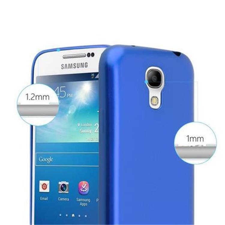 Custodia-Cover-Silicone-per-Samsung-Galaxy-S4-TPU-Case-Metallico-Opaco miniatura 22
