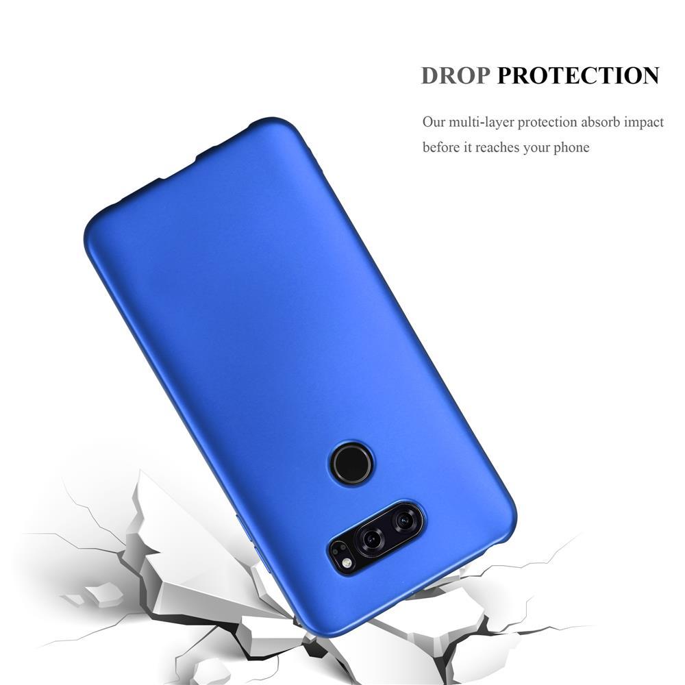 Custodia-Cover-Silicone-per-LG-V30-TPU-Case-Metallico-Opaco miniatura 22