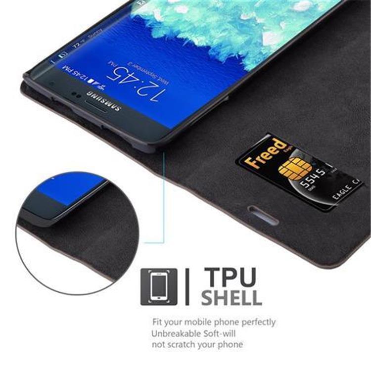 Custodia-per-Samsung-Galaxy-NOTE-EDGE-Portafoglio-Cover-Case-Magnetica-Libro miniatura 6