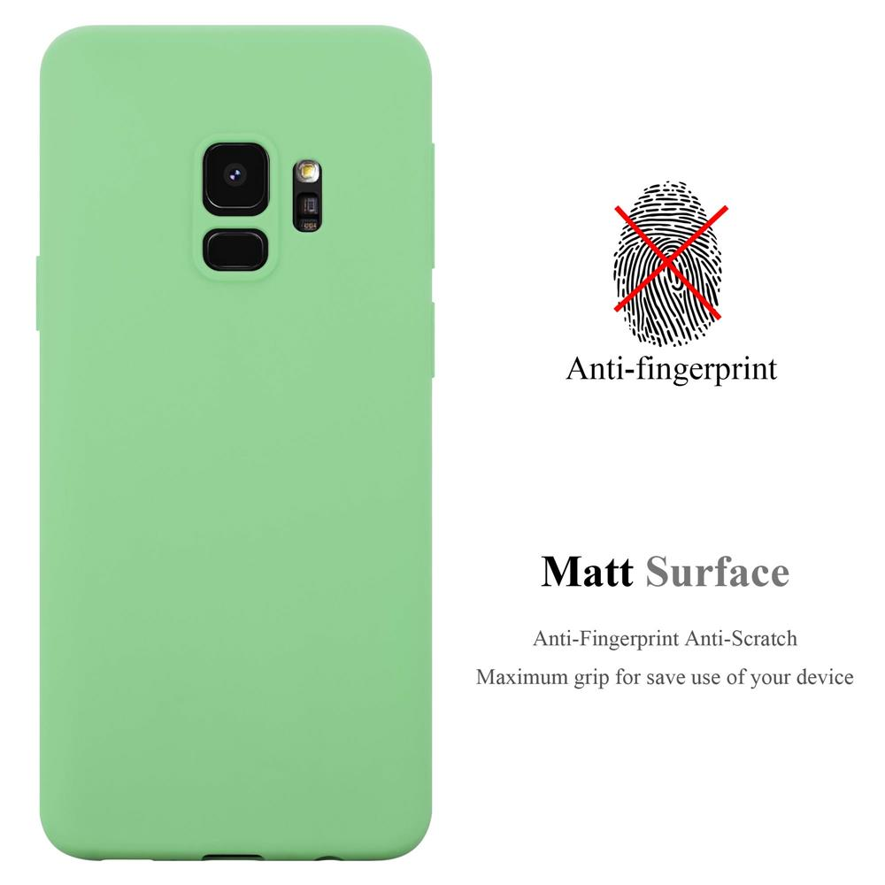 Custodia-Cover-Silicone-per-Samsung-Galaxy-S9-TPU-Case-Protettiva miniatura 25