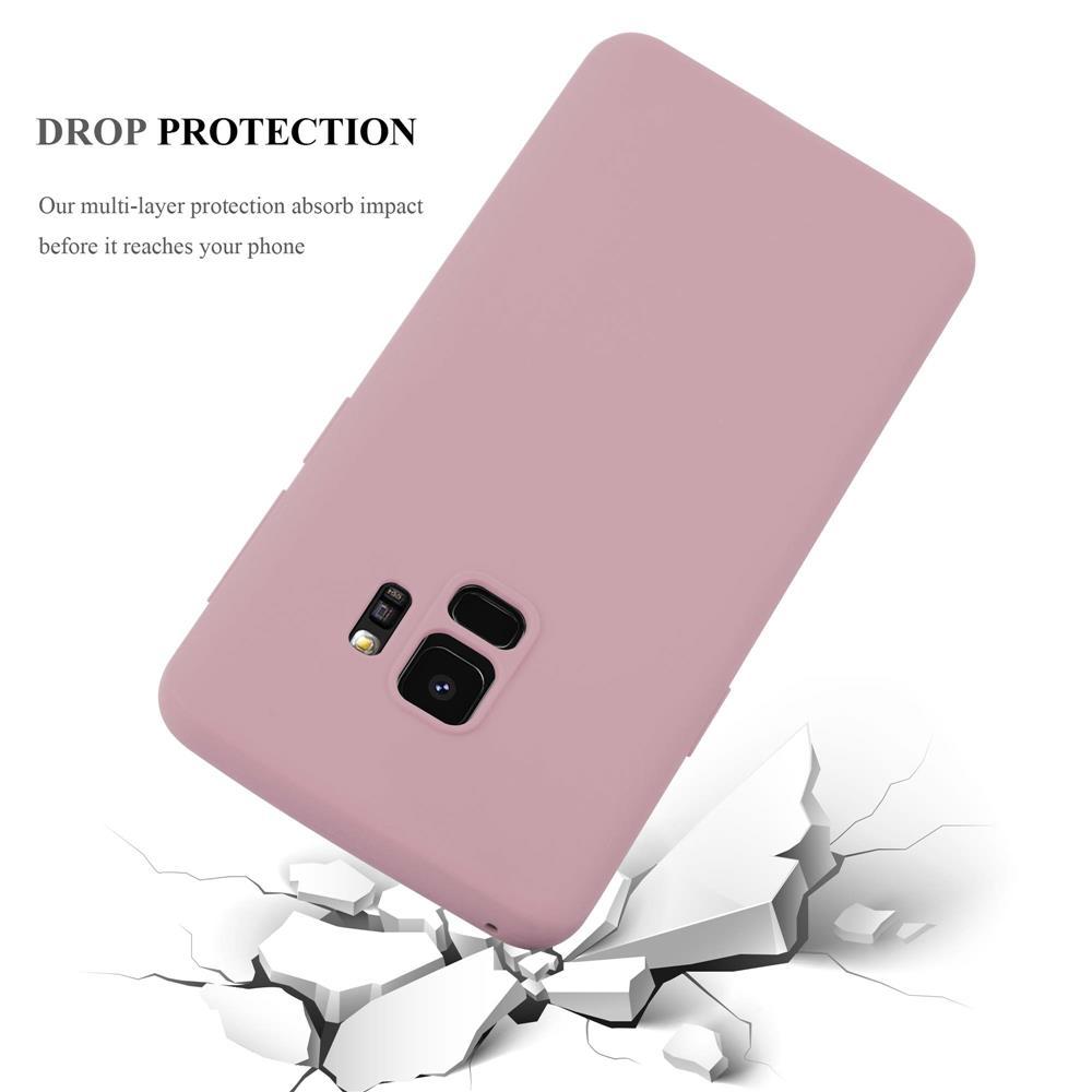 Custodia-Cover-Silicone-per-Samsung-Galaxy-S9-TPU-Case-Protettiva miniatura 14
