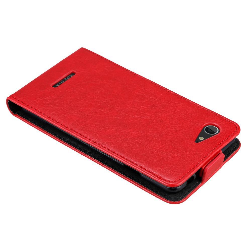 Custodia-per-Sony-Xperia-E3-FLIP-Cover-Protezione-Case-Conchiglia miniatura 7