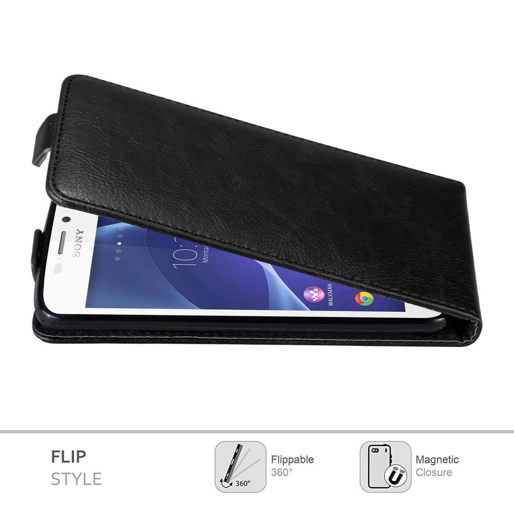Custodia-per-Sony-Xperia-M2-M2-AQUA-FLIP-Cover-Protezione-Case-Conchiglia miniatura 11